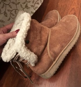 Ботинки/угги из овчины