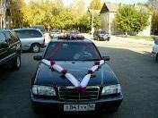 Свадебное украшение на машины