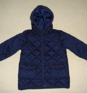 Куртка стеганая утепленная, р.104-110