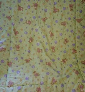 Одеяло детское 100х120 (верблюжья шерсть)