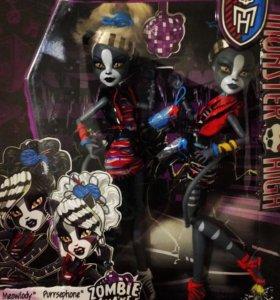 Набор пурсефона и Мяулоди Monster High