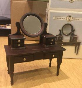 Трюмо для домика викторианской эпохи игрушечное