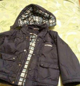 куртка демисезонная рост 122