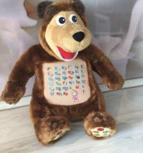 медведь интерактивный из маши и медведя