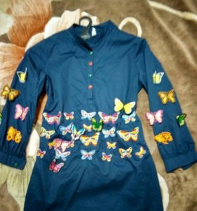 Платье бабочки