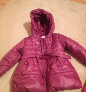 Тёплая куртка футурино