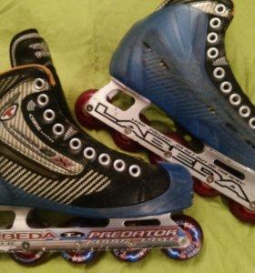 Ролики Tour Code Carbon GX Inline GoalieSkates Рro