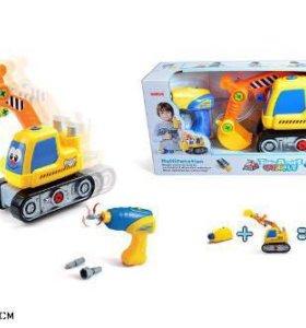 Конструктор-трактор новый