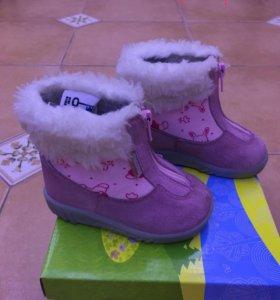 Ботинки зимние KUOMA размер 22