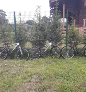 Велосипеды Trek и Stels