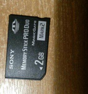Новая Memory Stick PRO Duo