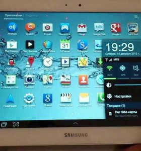Samsung планшет p5100 10.1 sim