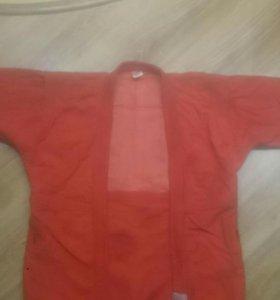 Куртка самбо, шорты, пояс