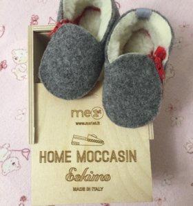 Детские ботиночки валенки мокасины