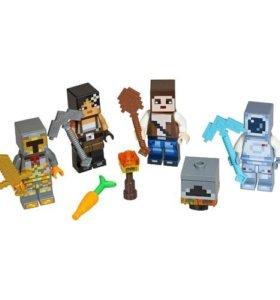 Фигурки Minecraft LEGO