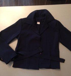 Пиджак школьный на девочку рост 140