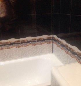 Ремонт и отделка ванной и туалета пластиком