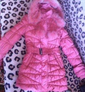 Пальто в отличном состоянии одето разу раз