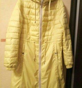 Болоневое пальто-плащ