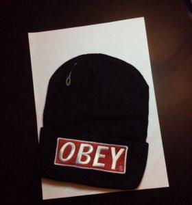Новая шапка OBEY