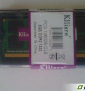 """Оперативка ddr3 1333 """"Klliser"""""""