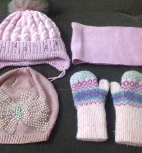 Зимний набор на девочку 2-3 года