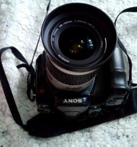 Фотоаппарат зеркальный Sony a100