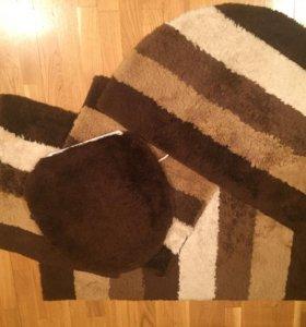 Комплект ковриков для ванной комнаты
