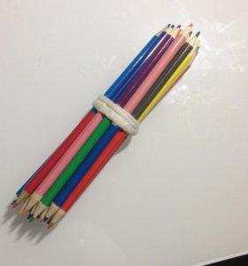 20 цветов,разноцветные карандаши