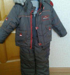 Зимний костюм р 92-98 на мальчика