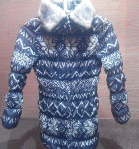 2 зимние куртки 46-48