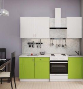 Кухня Олива зелёная