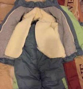 Зимний новый костюм на мальчика р116