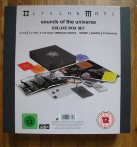 Depeche Mode Sounds of the Universe Deluxe Box Set