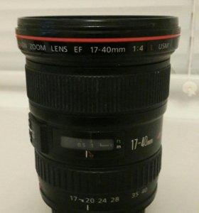 Canon EF 17-40 f4