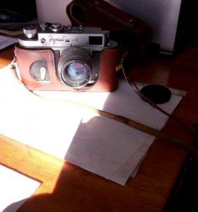 Фотоаппарат зоркий-4 с объективом юпитер-8