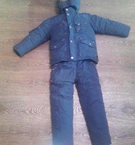 Новый зимний костюм на мальчика