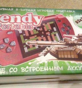 Портативная игровая приставка Dendy денди
