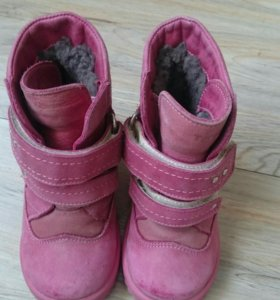 Ботинки детские зимние натуральная кожа и мех