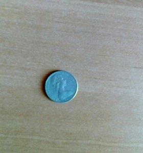 Монета коллекционная 1982г. Елизавета ||