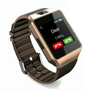 Новые  умные часы DZ09 с GPS /smart watch / смарт
