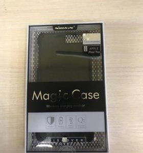 Чехол-беспроводная зарядка iPhone 7 plus