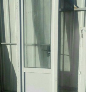 Дверь балконная пвх с коробкой