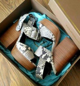 Ash оригинал новые босоножки туфли натуральная кож