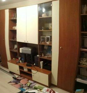 Шкаф стенка в гостиную