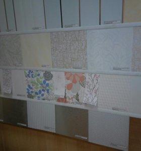 Панели пластиковые белые и цветные