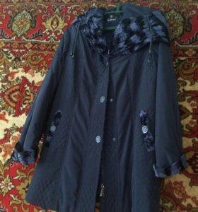 Пальто женское размер 50