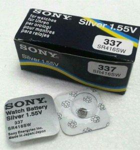 Батарейки для микронаушников sr416sw | 337