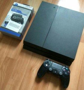 Sony PS4 (1TB) NEW +Диски+Стики