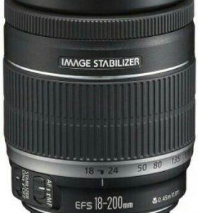 Объектив Canon EF-S 18-200